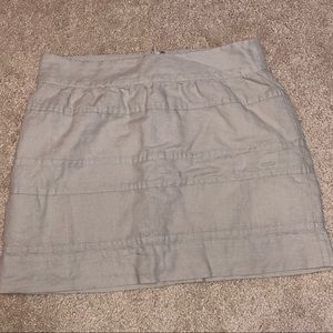Banana Republic Linen Blend Skirt